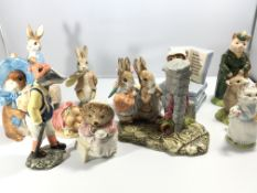 A collection of Beswick and other makers Beatrix P