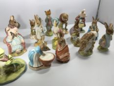 A collection of fifteen Beswick and Royal Albert B