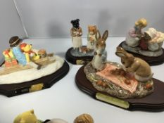 A collection of limited edition Royal Doulton and