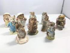 A collection of ten Royal Albert and Beswick Beatr
