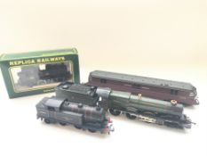 A boxed Replica Railways No.11002 Pannier 0-6-0 Br