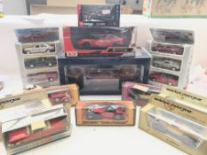 A Collection of Matchbox Models of yester year, an