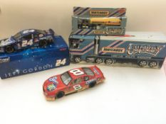 A Jeff Gordon 1:24-scale sock car (Star Wars) and