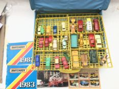 A Matchbox Carry case including some cars and incl