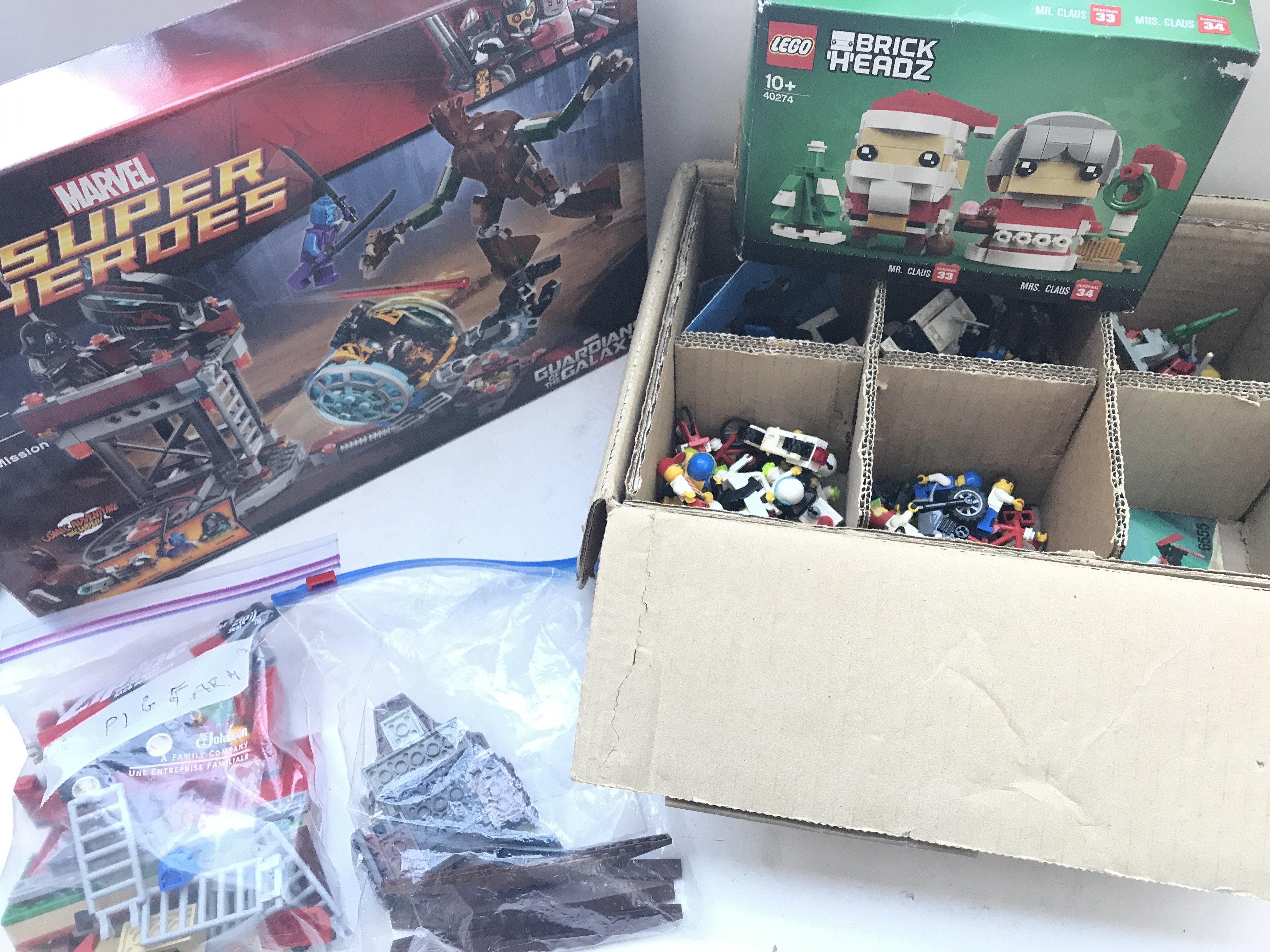 A Collection of mixed Lego, some boxed