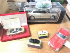 A Collection of model Jaguar cars including Matchb