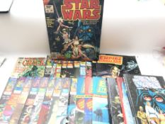 A Collection of Star Wars Comics and Annuals, incl