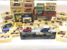 A Collection of boxed Corgi, Lledo and matchbox ca
