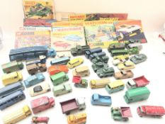A collection of 15 Matchbox and Dinky Catalogues a
