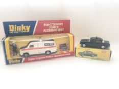 A Dinky Ford Transit Police Accident Unit #269 box