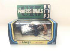 A Corgi Professionals Ford Capri, boxed and comple
