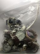 A collection of watches, including makes such as B