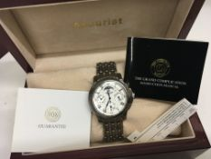 A boxed Accurist Gents modern design Chronograph w