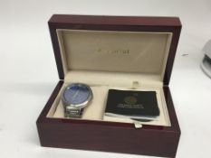 A boxed Accurist Gents watch the Celestial watch i