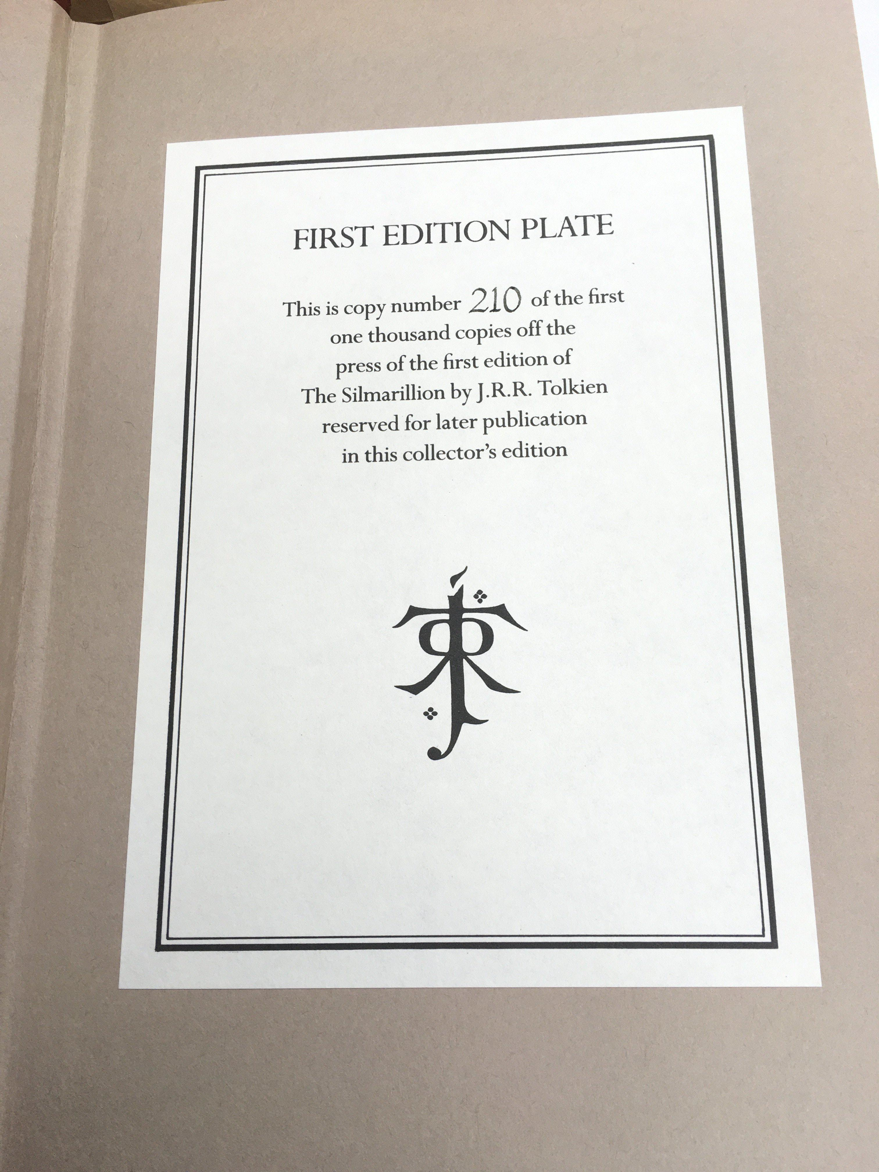 A limited and numbered first edition of The Silmar - Image 2 of 2