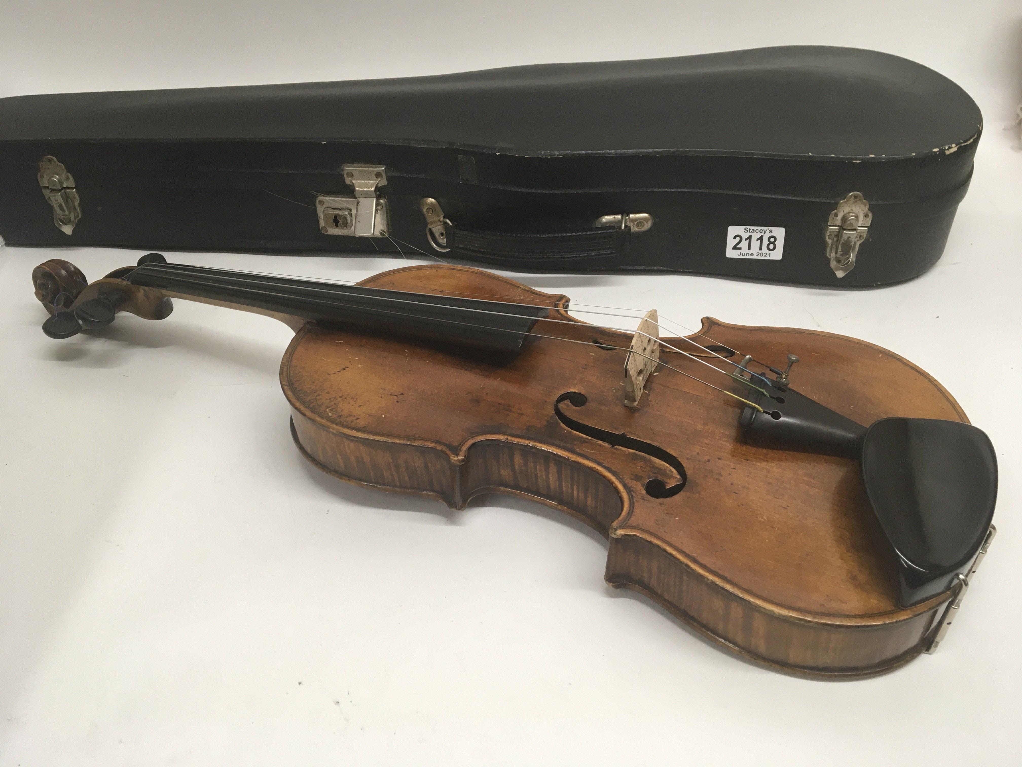 A Quality Victorian English violin maker William B