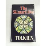 A first edition hardback book of The Silmarillion