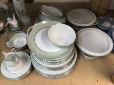 An Noritake dinner service including tureens plate