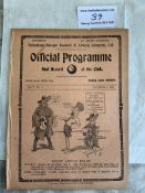 1912/1913 Tottenham Reserves v Woolwich Arsenal Fo