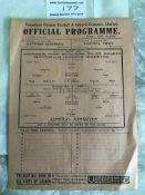 1937/38 Tottenham v Arsenal London Challenge Cup F