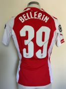 2014/2015 Bellerin Arsenal Match Issued Football S
