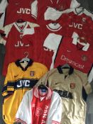 Arsenal Replica Football Shirts: 8 all different m