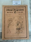 1921/1922 Tottenham Reserves v Arsenal Football Pr