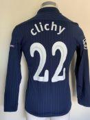 2009/2010 Clichy Arsenal Match Worn Football Shirt