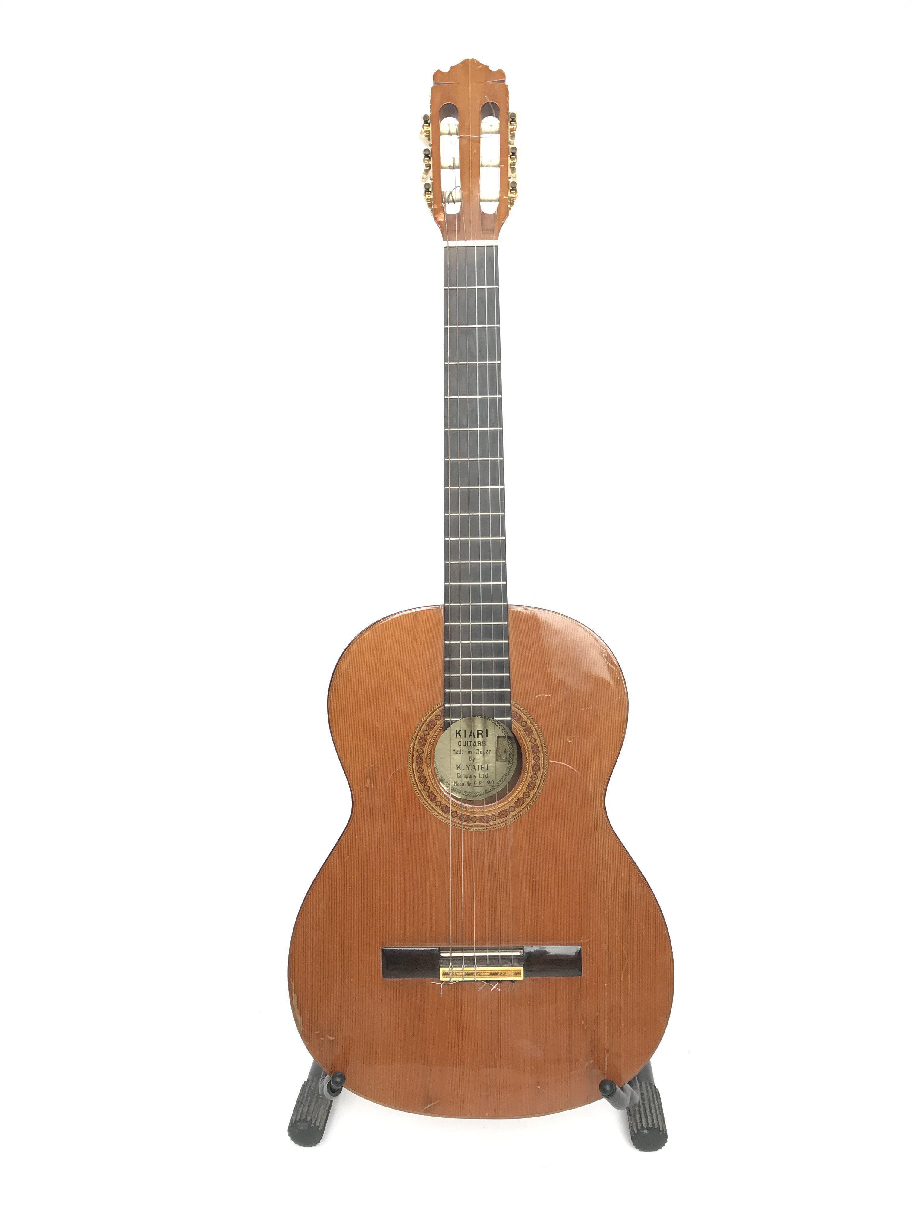 A vintage Japanese K Yairi Company Ltd acoustic cl
