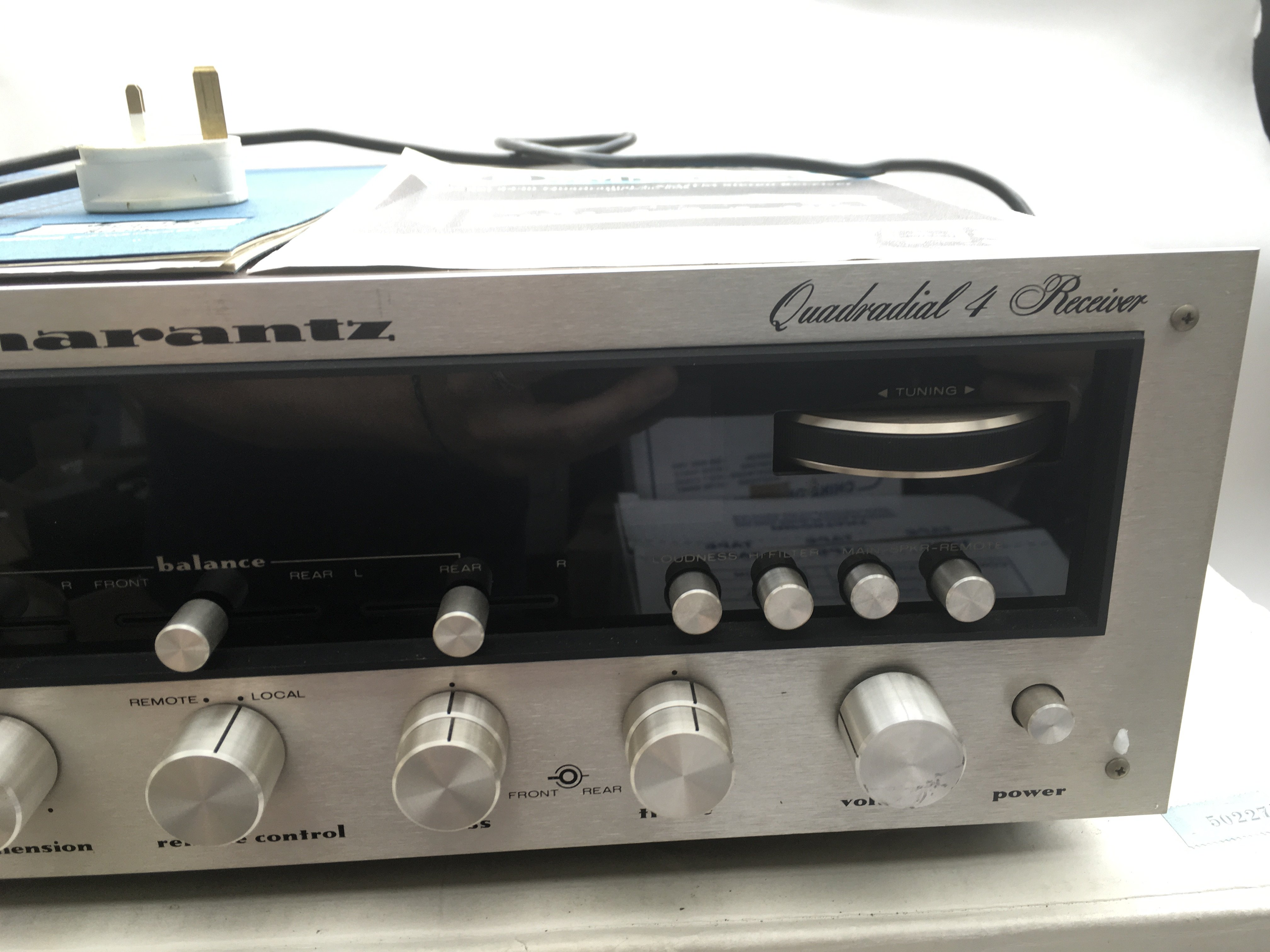 A boxed Marantz 4430 Quadradial stereo receiver wi - Image 3 of 4