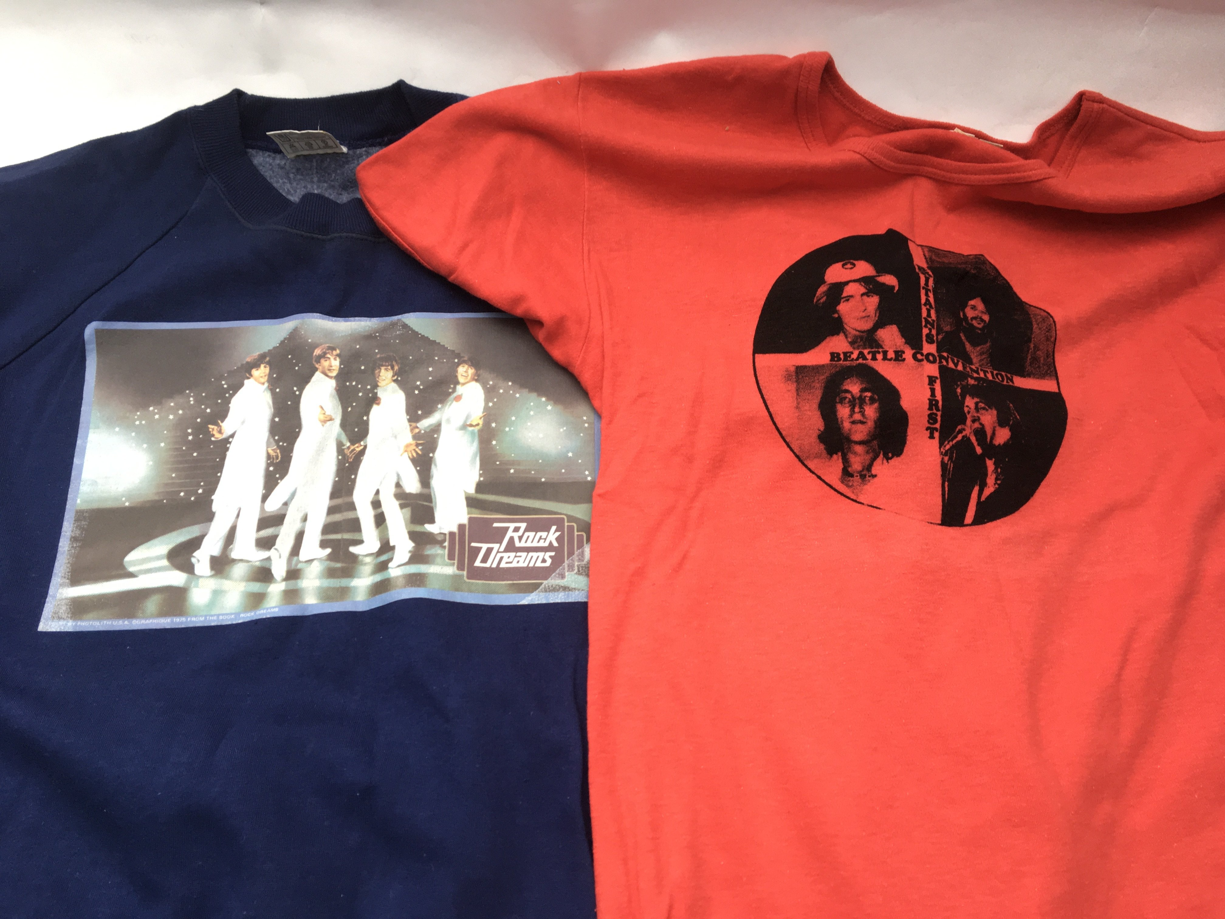 A collection of vintage Beatles t-shirts and sweat - Image 3 of 3
