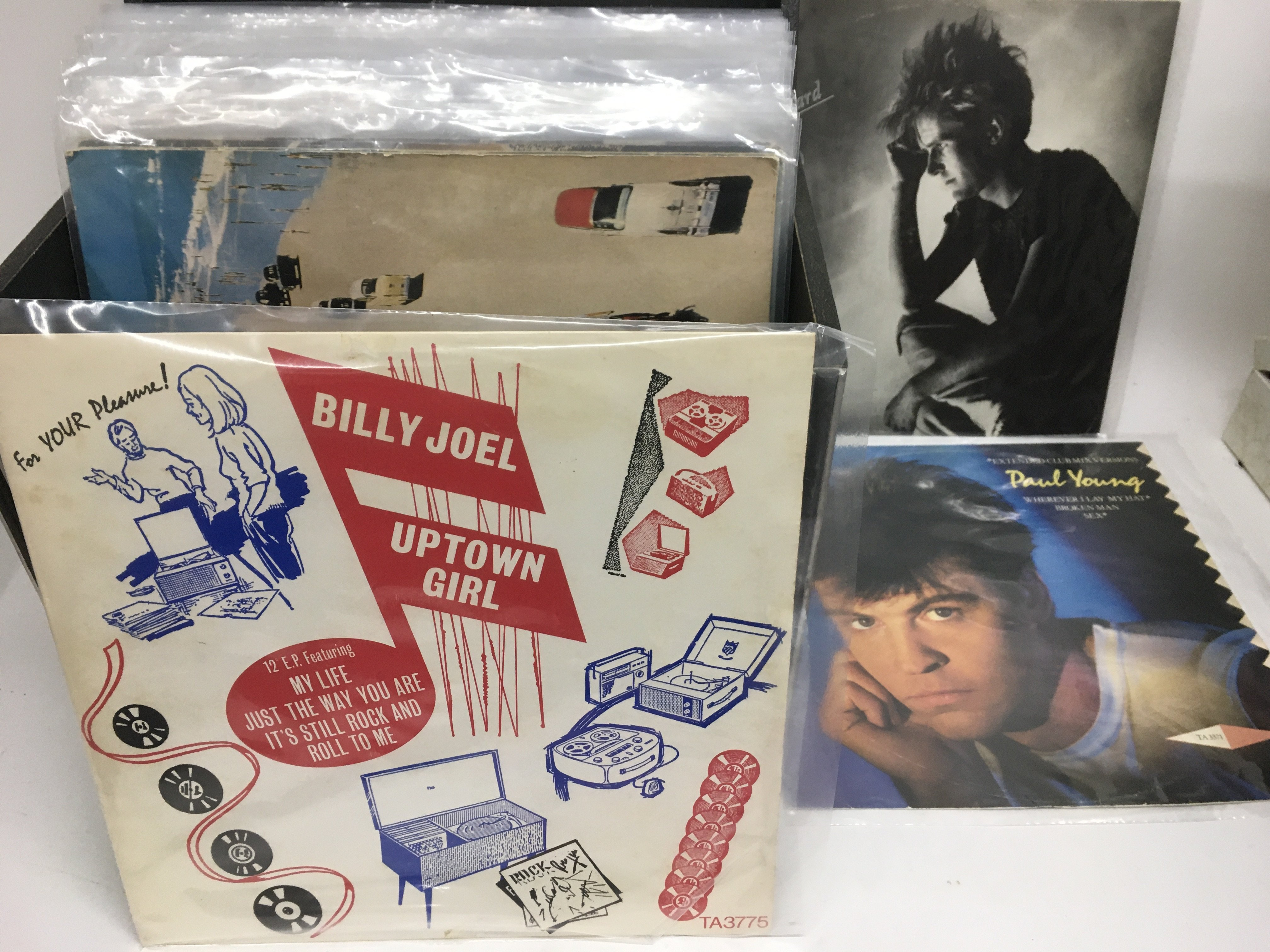 Three record cases of mainly 80s and 90s pop 12inc - Image 2 of 3