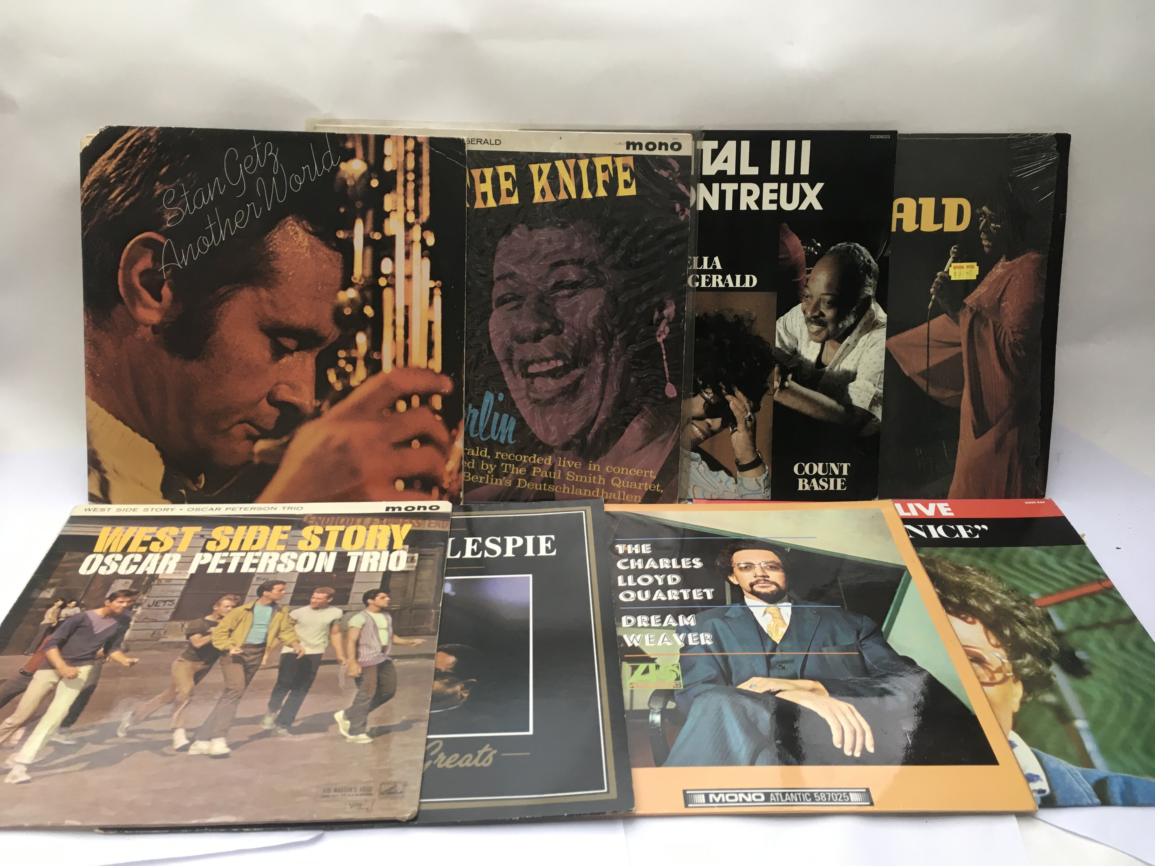 Fifteen jazz LPs by various artists including Stan