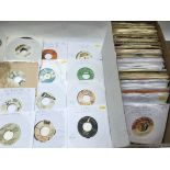 A collection of approx 200 reggae 7inch singles by