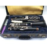 A circa 1965 Boosey & Hawkes Imperial clarinet in
