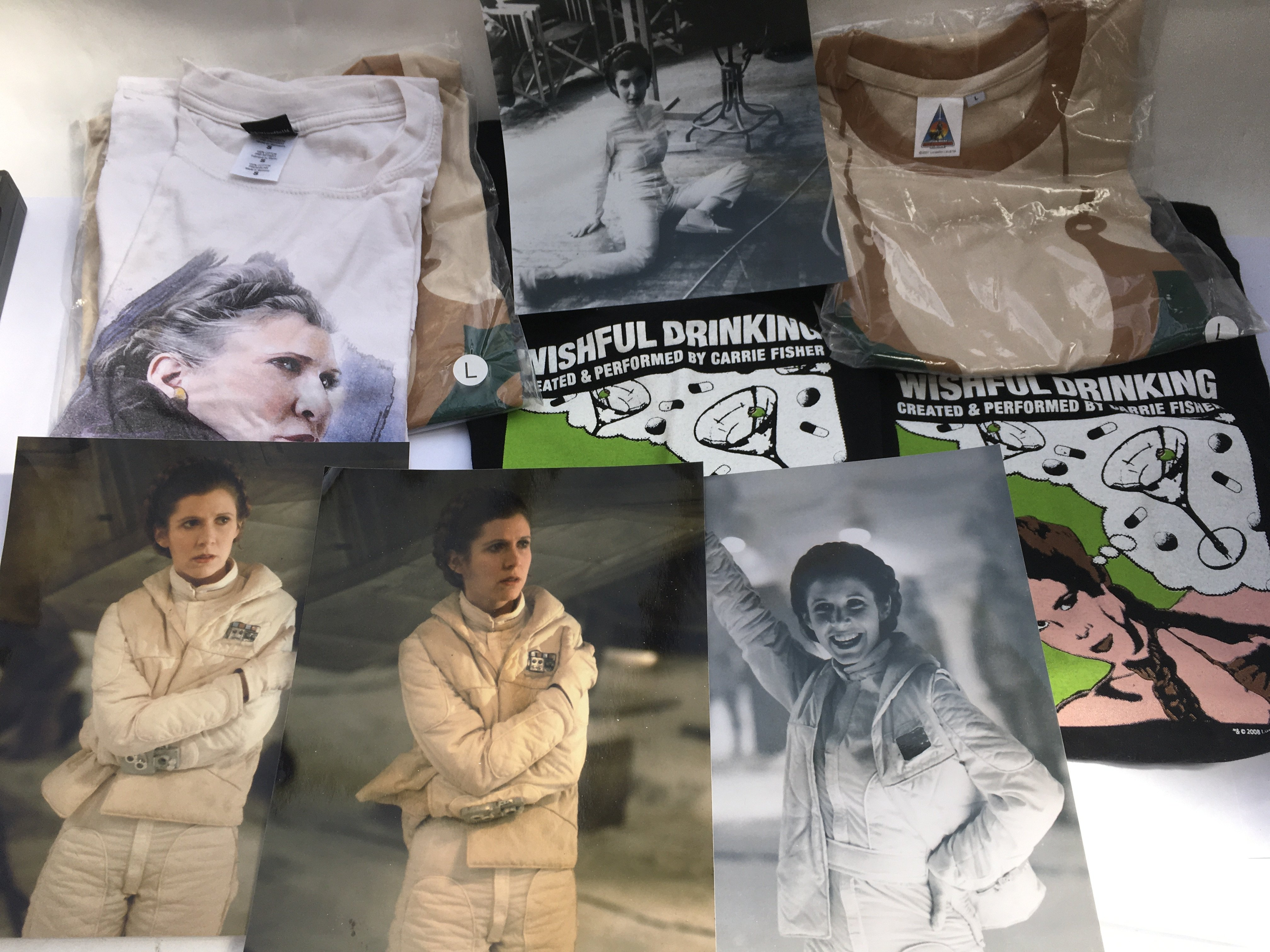 A collection of Carrie Fisher and Star Wars relate - Image 4 of 6