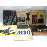 Seven jazz records by various artists including Ji