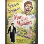 A UK one sheet film poster for 'Man Of The Moment'
