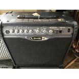 A Line 6 Spider II guitar amplifier.