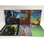 Six LPs by Yes comprising'The Yes Album', 'Close T