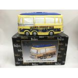 A boxed Beatles Magical Mystery Tour bus cookie ja