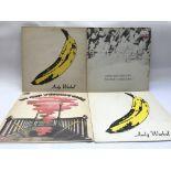 Four Velvet Underground LPs comprising 'The Velvet