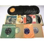 A collection of 7inch singles and EPs from the 196