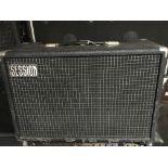 A Sessionette 75 guitar amplifier.