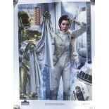 A limited edition Star Wars Celebration poster tit