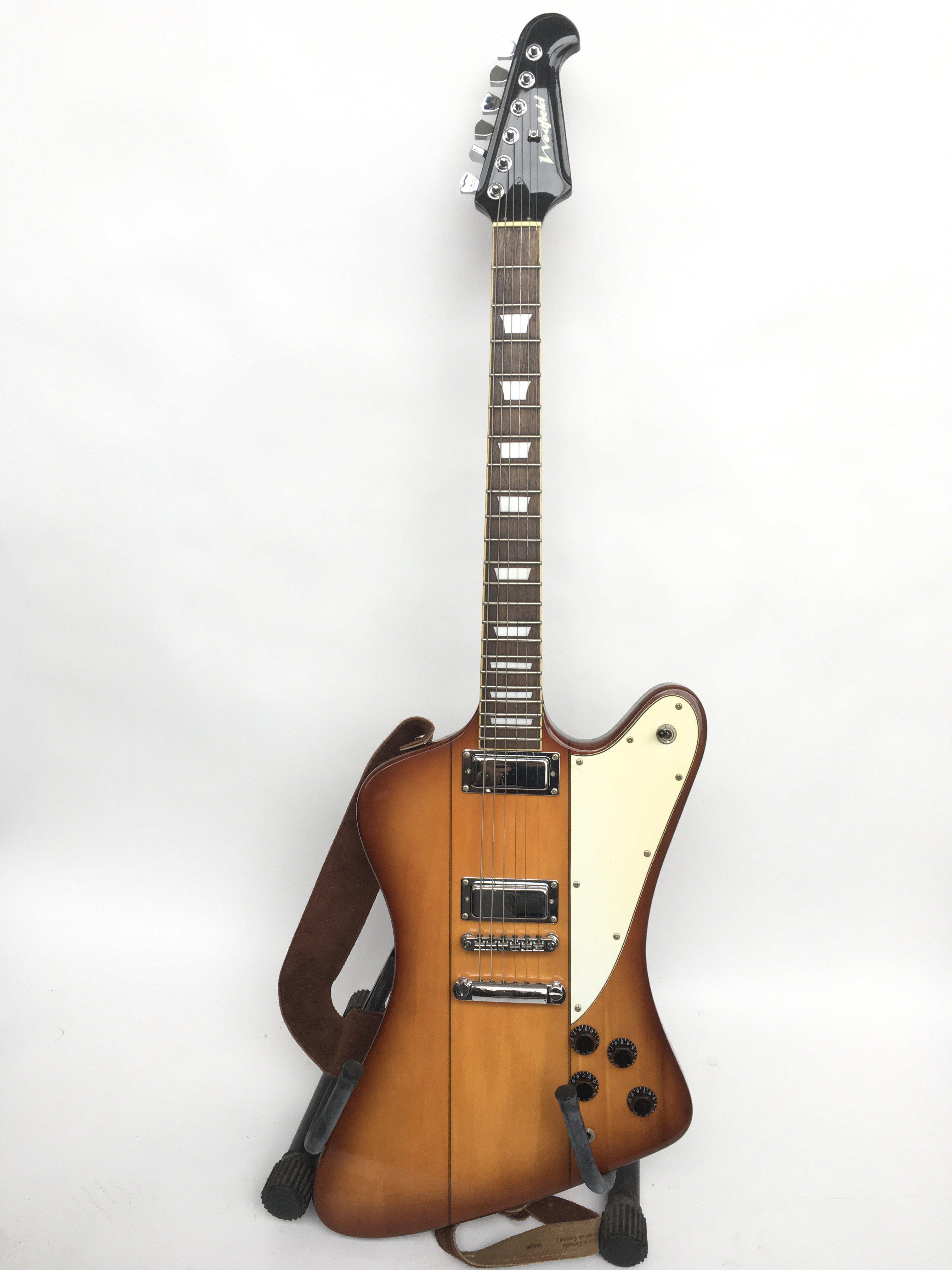 A Westfield 'Explorer' style electric guitar suppl