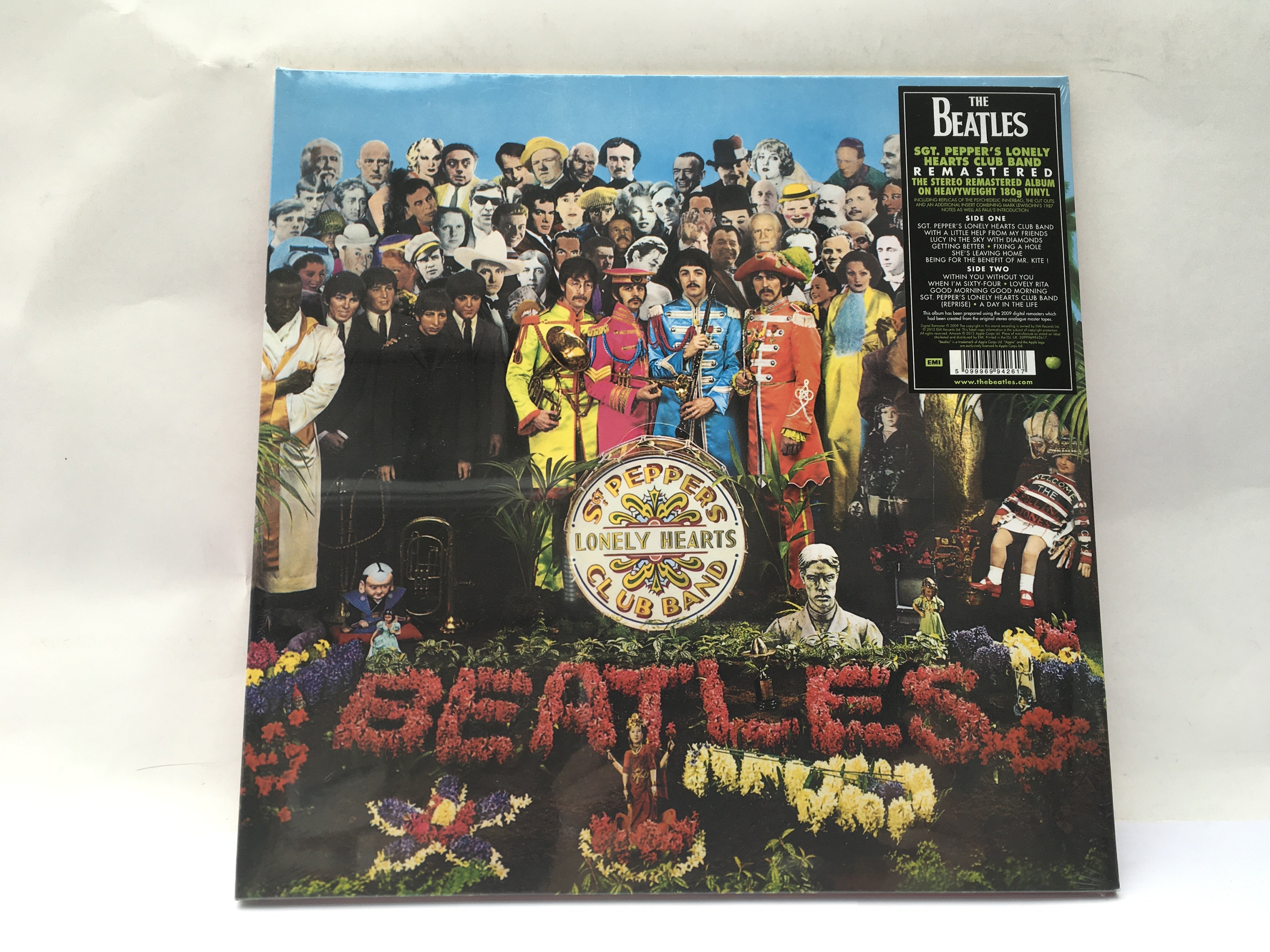 A sealed and mint 180g 2009 pressing of 'Sgt Peppe