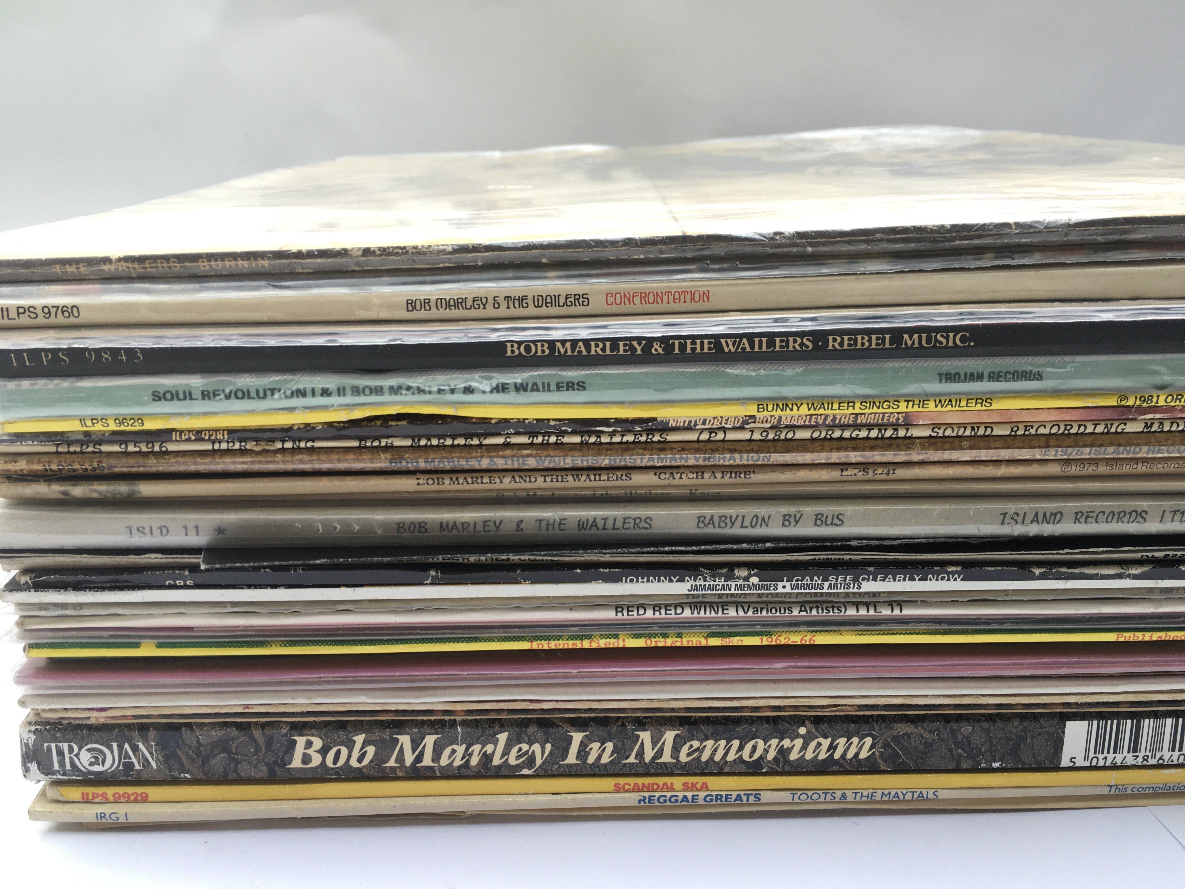 A collection of reggae LPs and 12inch singles by v - Image 2 of 2