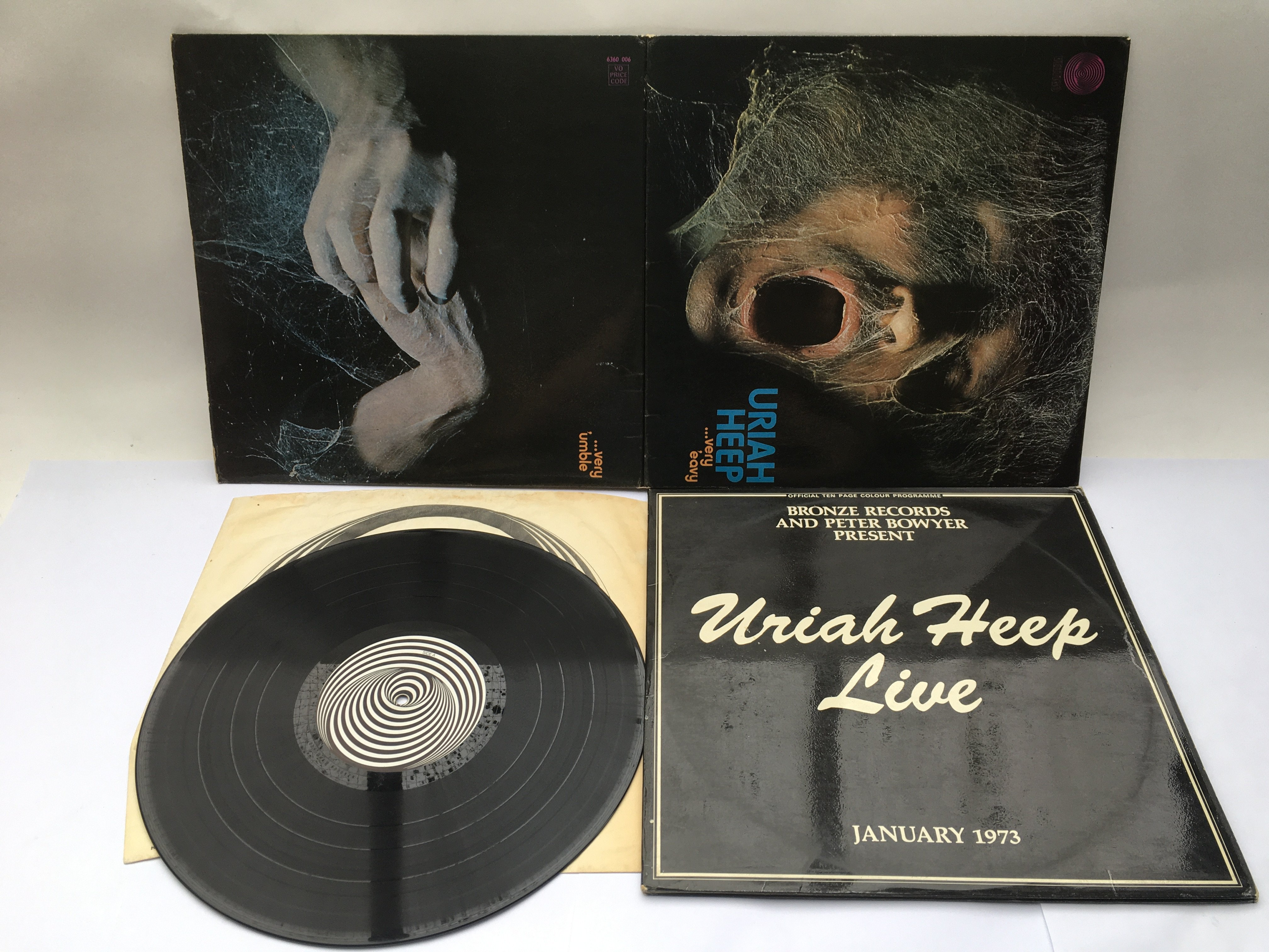 A first UK pressing of 'Very Eavy, Very Umble' by