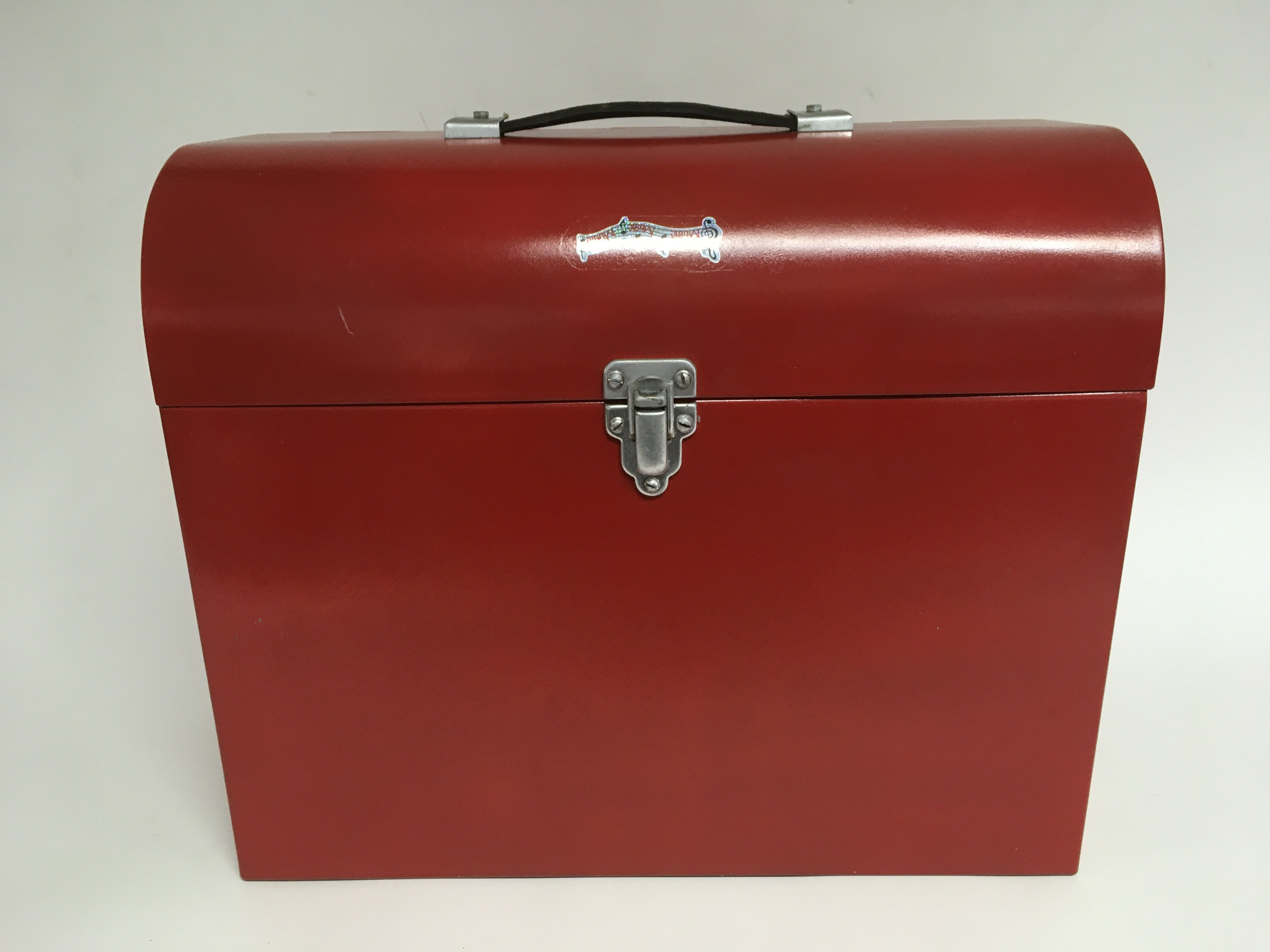 An unusual vintage toolbox shaped Collero record p - Image 2 of 2
